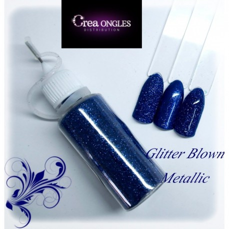 Glitter Blown Metallic 19