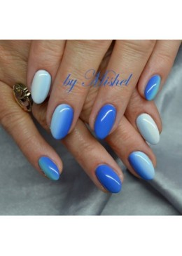 Gel Couleur Pastel blue