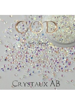 Mini Crystaux Transparents AB 1440 pcs