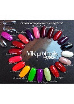 Hybrid gel Polish Carmine Pearl