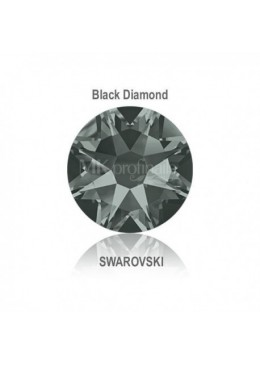 Crystal Swarovski Black Diamond SS10