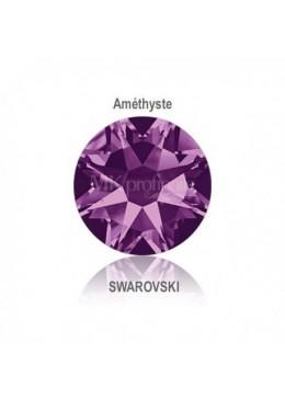 Crystal Swarovski Amethyst SS10