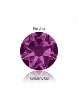 Crystal Swarovski Fuchsia SS10