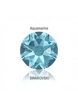 Crystal Swarovski Aquamarine SS3