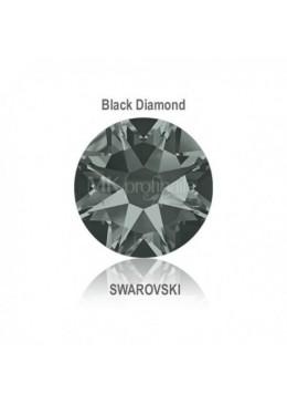 Crystal Swarovski Black Diamond SS10