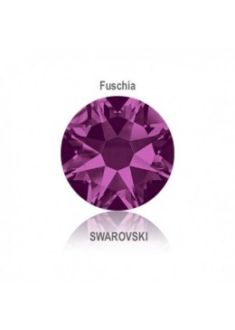 Crystal Swarovski Fuchsia SS5