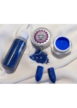 Blown Glitter Magic Blue