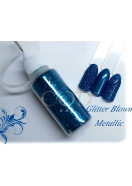 Glitter Blown Metallic 15