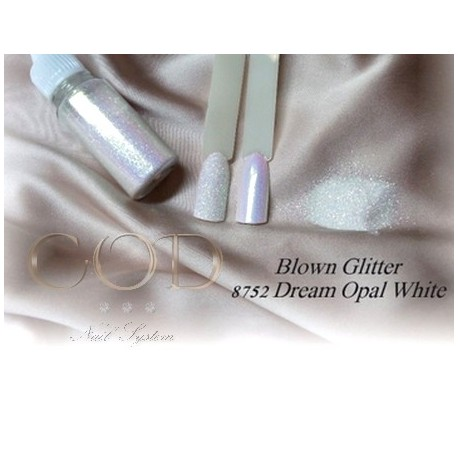 Blown Glitter Dream Opal White