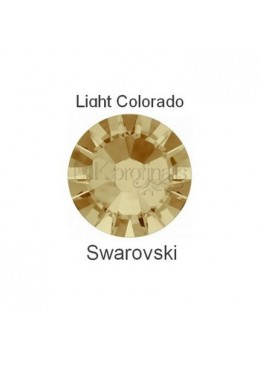 Crystal Swarovski Light Colorado Topaz SS3