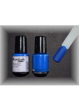 Vernis Stamping néon Blau