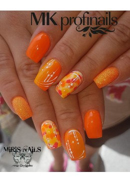 Hybrid gel Polish Néon Orange