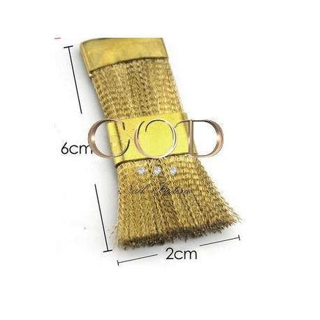 Brosse en fil de cuivre pour embout