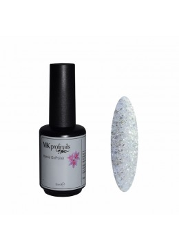 Hybrid gel Polish Luxury Silver