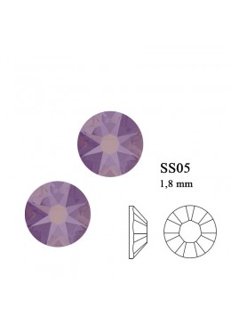 Crystal Swarovski Cyclamen Opal SS5