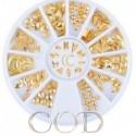 Carrousel Studs Gold