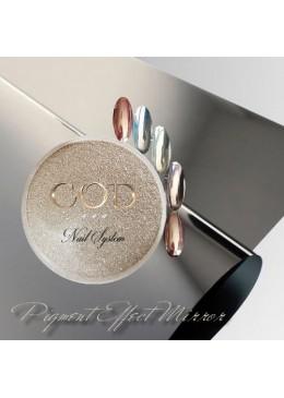 Pigment Silver effet miroir