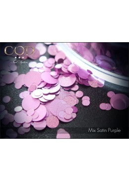 Mix Satin Purple