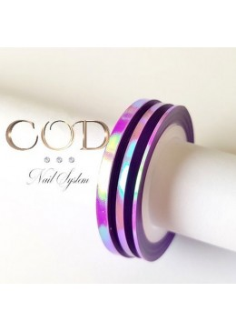 Strip Line Unicorn Purple