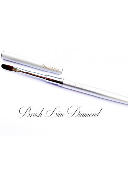 Brush Line Diamond Oval N°4