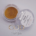 Micro bille +++ doré 0.8mm