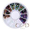 Carrousel Strass mix color AB