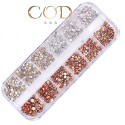 Mix Strass Crystal/Gold/Opal