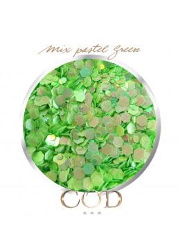 Mix Pastel Green