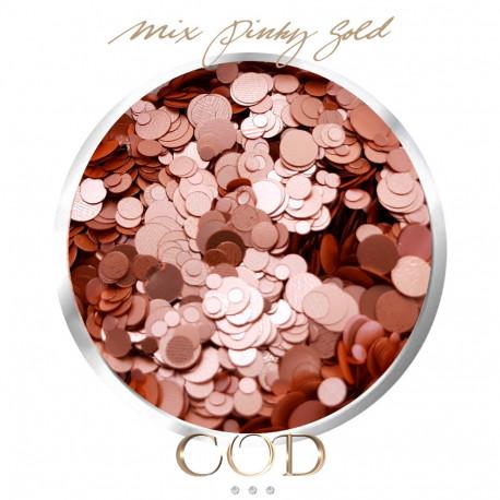 Mix Satin Pinky Gold