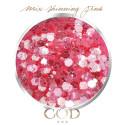 Mix Shinning pink