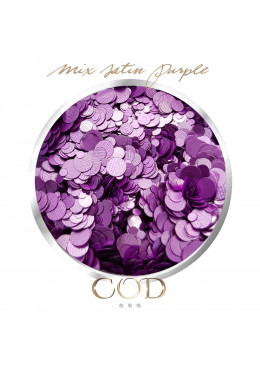 Mix Satin Purple