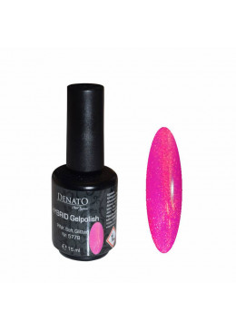 Hybrid gel Polish Pink Soft Glitter