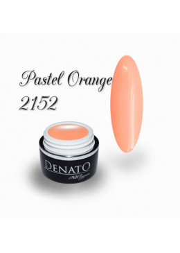 Gel Couleur pastel orange