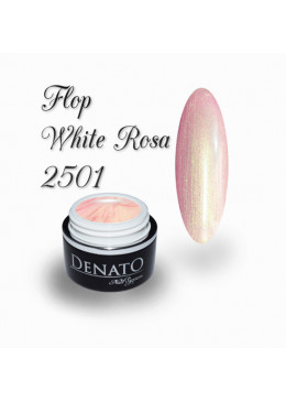 Gel Couleur Flop White Rosa