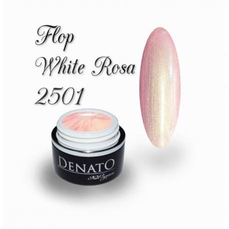Gel Couleur Flop White Rosa