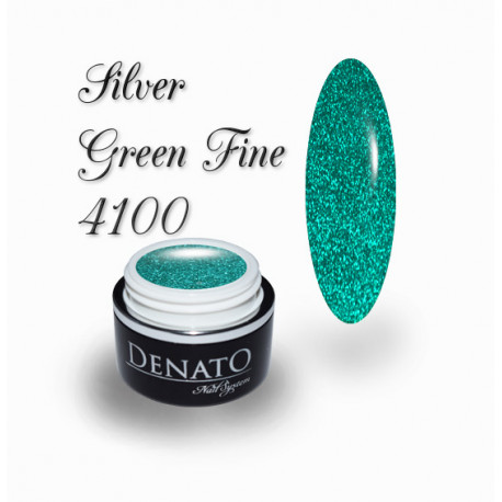 Gel Couleur Silver Green Fine