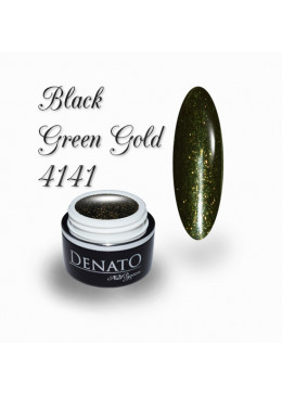 Gel Couleur Black Green Gold