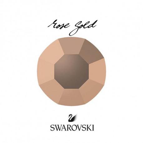 Crystal Swarovski Rose Gold SS3