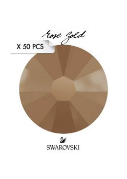 Crystal Swarovski Rose Gold SS7