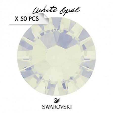 Crystal Swarovski White Opal SS5