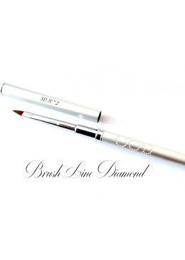 Brush Line Diamond 3D N°2