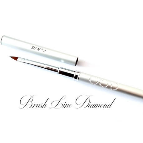 Brush Line Diamond 3D N°2