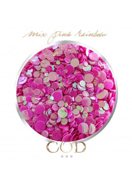 Mix Pink Rainbow