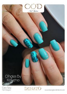 Gel Couleur Pacific blue