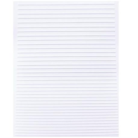 Strip Line flexible blanc