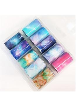 Box Mix Foil Marble