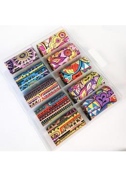 Box Mix Foil Vintage