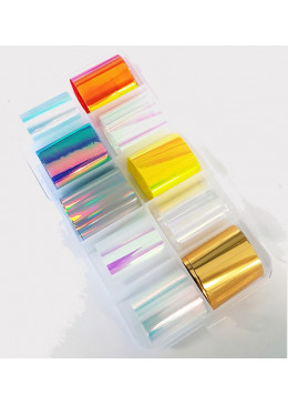 Box Mix Foil Glass
