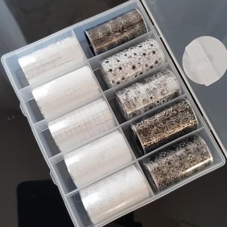 Box Mix Foil Lace
