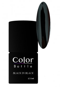 Color Bottle - Back in Black